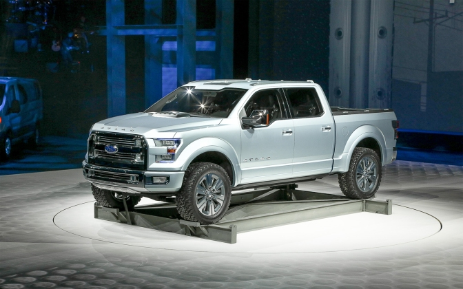 Ford Betting On A Aluminum F-150 In 2014