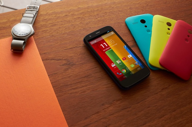 Moto G Android Smartphone Already Receiving KitKat Goodness