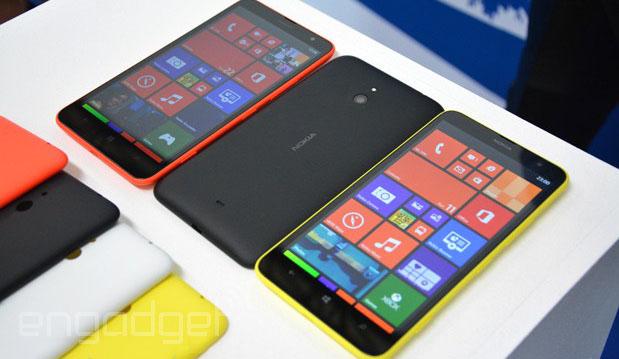 Nokia Announces the Lumia 1320 Windows Smartphone (video)