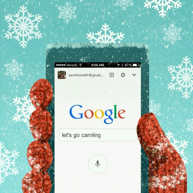 Google Smartphone Search Has Hidden Christmas Karaoke Machine