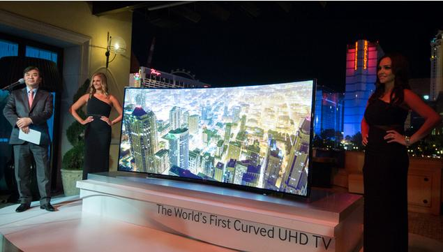 bendable HDTV