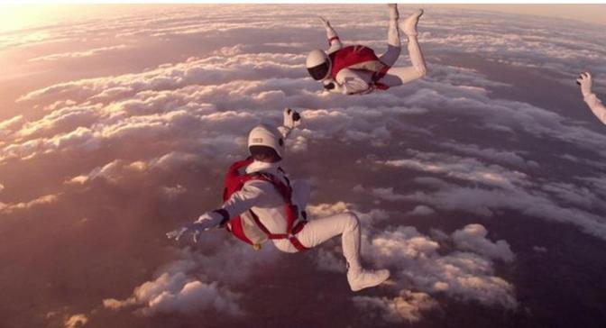 Skydivers Share Their View From Above (video)