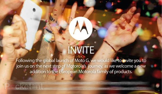 Motorola To Have A Press Event Jan 14th In London
