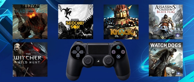 PlayStation 4 To Receive Over 100 Games This Year